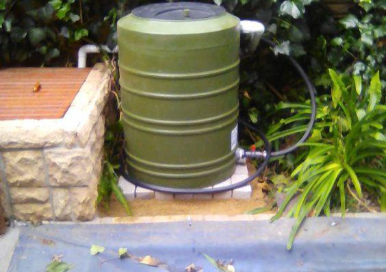 Pool Backwash Water Saver Green Bloemfontein